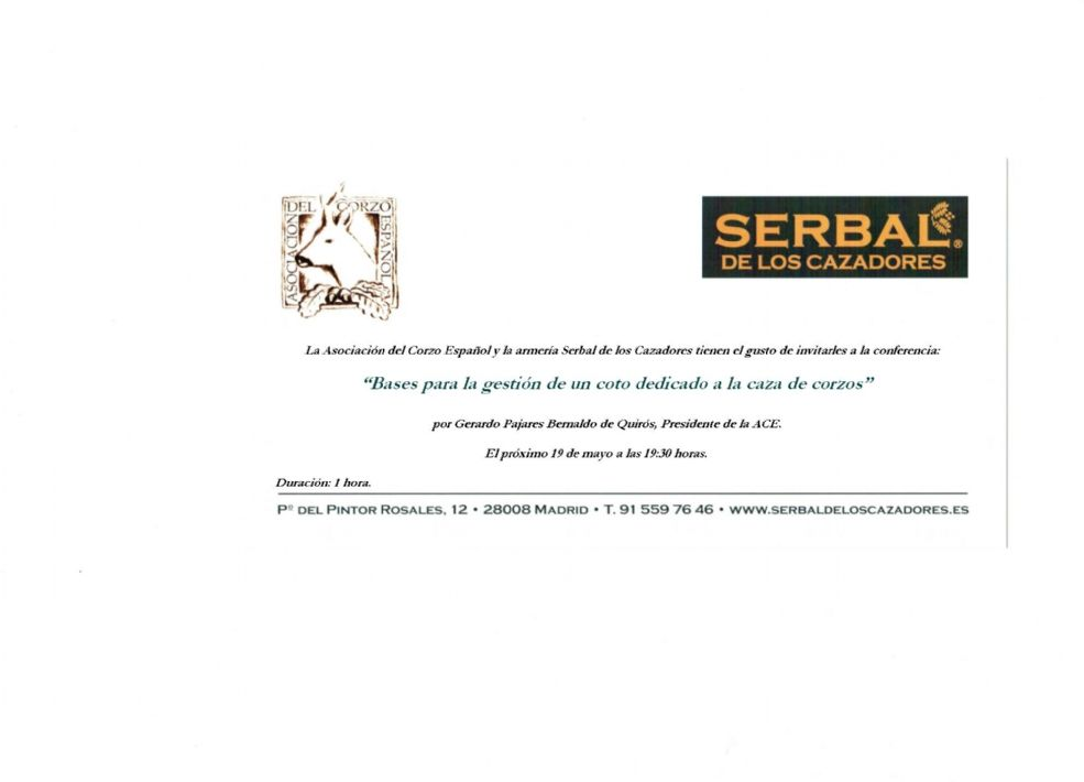 Invitación Serbal